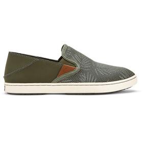 OluKai Pehuea Shoes Women Dusty Olive/Palm